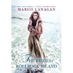 Book cover of Brides of Rollrock Island - woman in long cloak standing in shallow ocean water