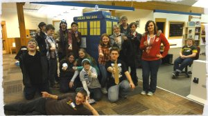 "Crook County Library ""Doctor Who"" event"