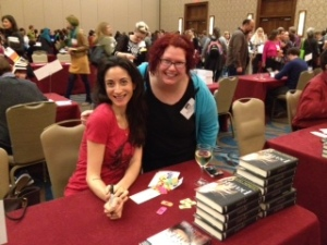 Aimee with author Lauren Oliver
