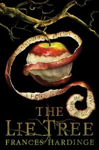 The cover of the book The Lie Tree by Frances Hardinge