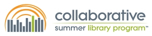The logo of CSLP, the Collaborative Summer Library Program