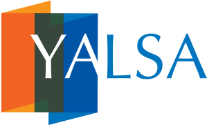 The logo of YALSA, the Young Adult Library Services Association