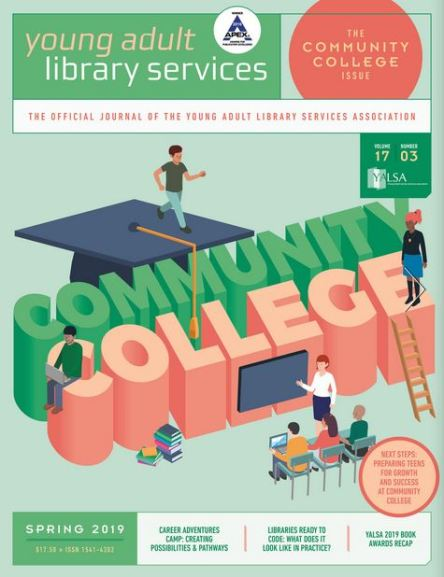 CoverOfSpring2019CommunityCollegeIssue